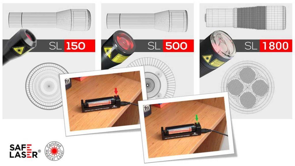 Safe Laser akkumulátor használat