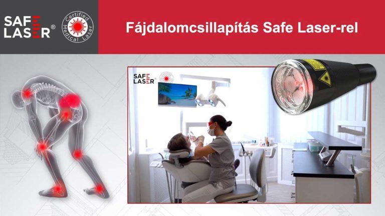 Fájdalomcsillapítás Safe Laser-rel