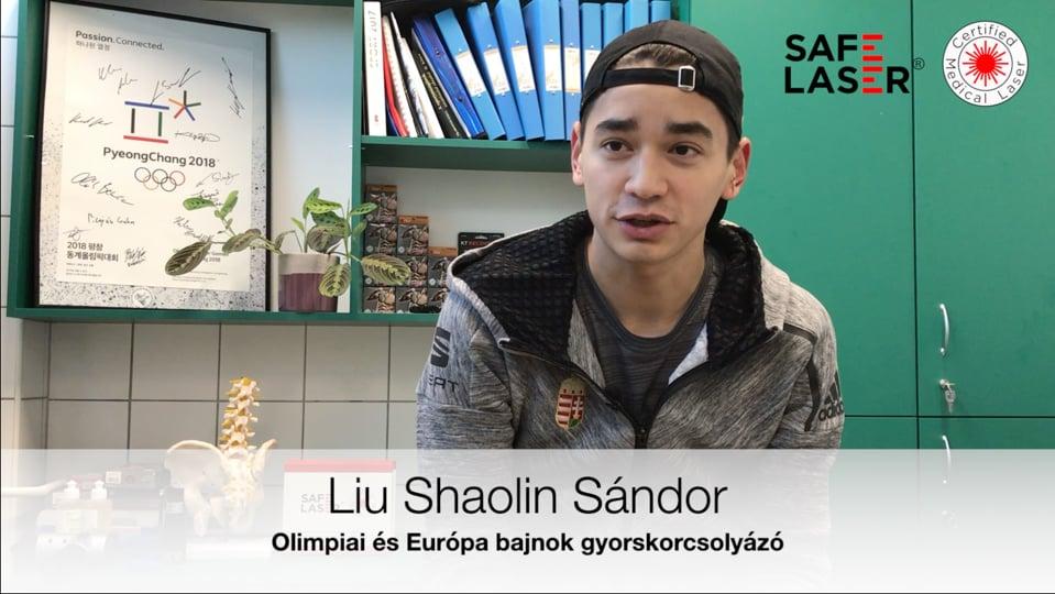 Safe Laser tapasztalat - SL1800 Liu Shaolin Sándor - Bokasérülés