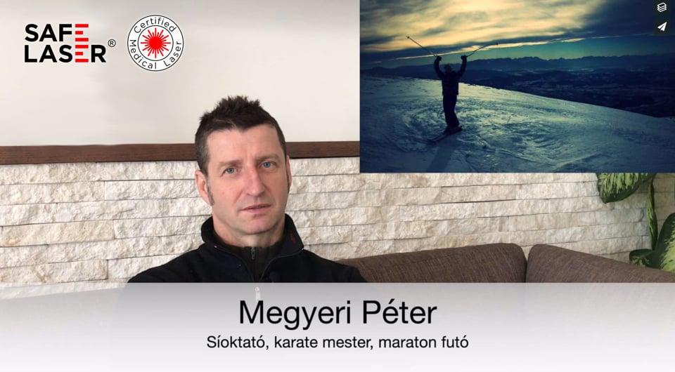MEgyeri Péter Tapasztalat bokasérülés SL1800Infra